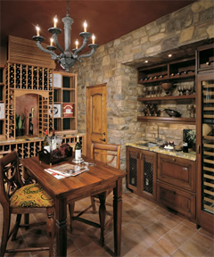 top NJ Basement contractors basement wine cellar NJ