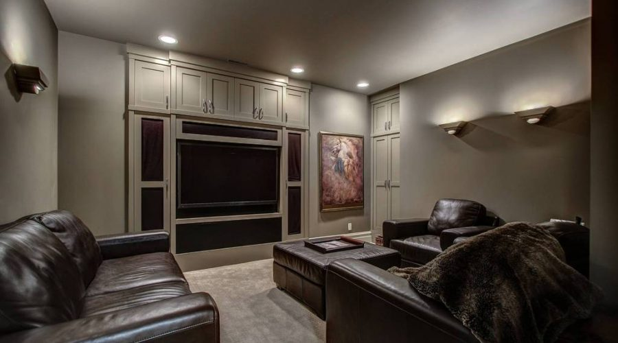 #1 basement contractor NJ finished basement theatre room Ocean County NJ Finished Basement Company