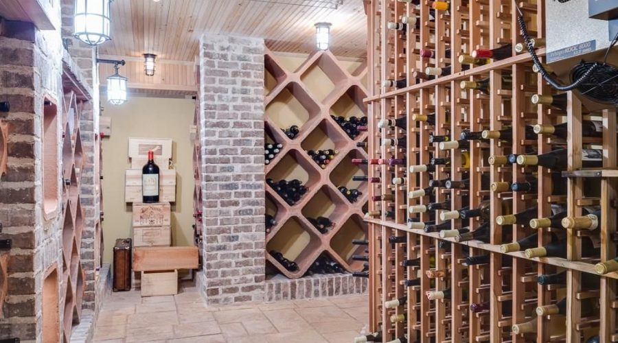 Best NJ Finished basement contractor wine cellar finished basement wine cellar NJ