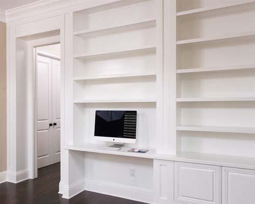 built in shelving - top custom new home builder NJ