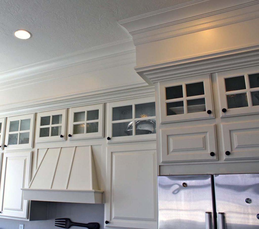 Kitchen cabinet trim - luxury new home builder NJ