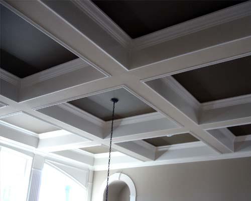 coffered ceilings - top NJ custom new home builder