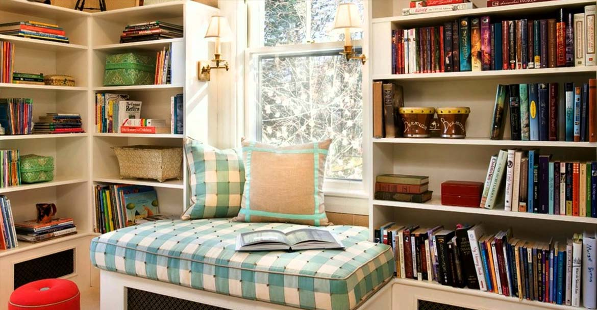 flex room ideas - Reading room - Top New Home Builder Gambrick