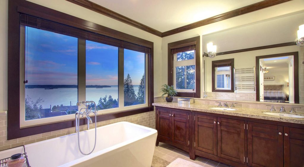local home builder NJ luxury custom bathroom waterview home builders NJ