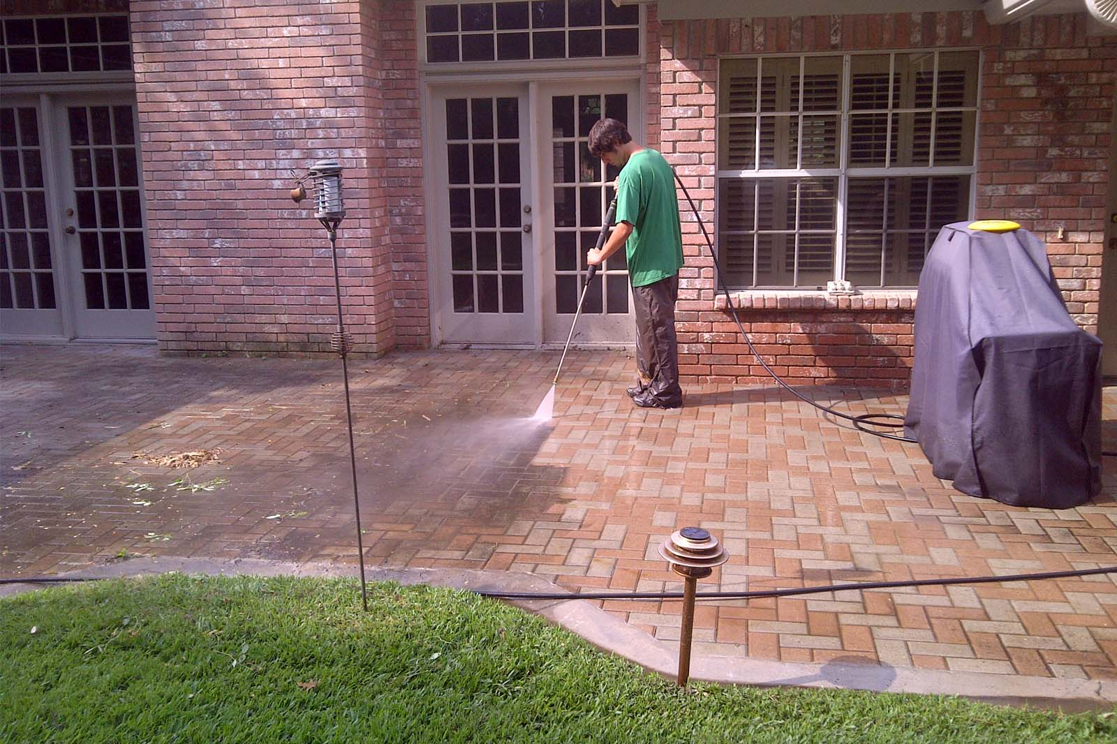 benefits of brick pavers - easy cleaning - top NJ Home Buidler