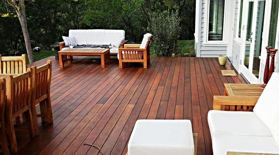 Ipe Deck Top NJ Deck Contractor