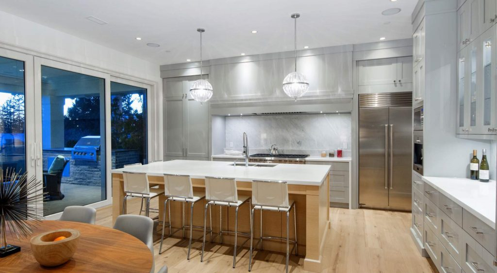 Modern Kitchen Design New Home Builder Gambrick Modern Home Builder NJ