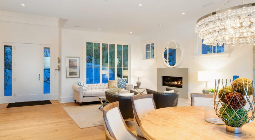 modern home design high ceilings gambrick custom home builders NJ