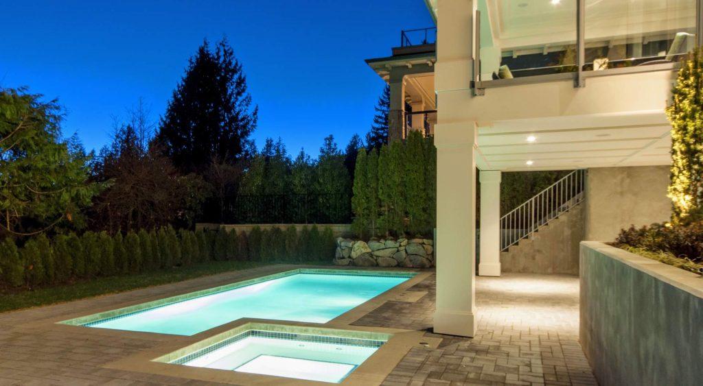 indoor outdoor living spaces modern home design Gambrick custom home builder NJ