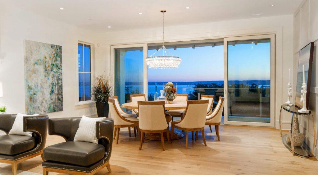beautiful views modern home design Gambrick Custom home builders NJ Jersey Shore Home Builder