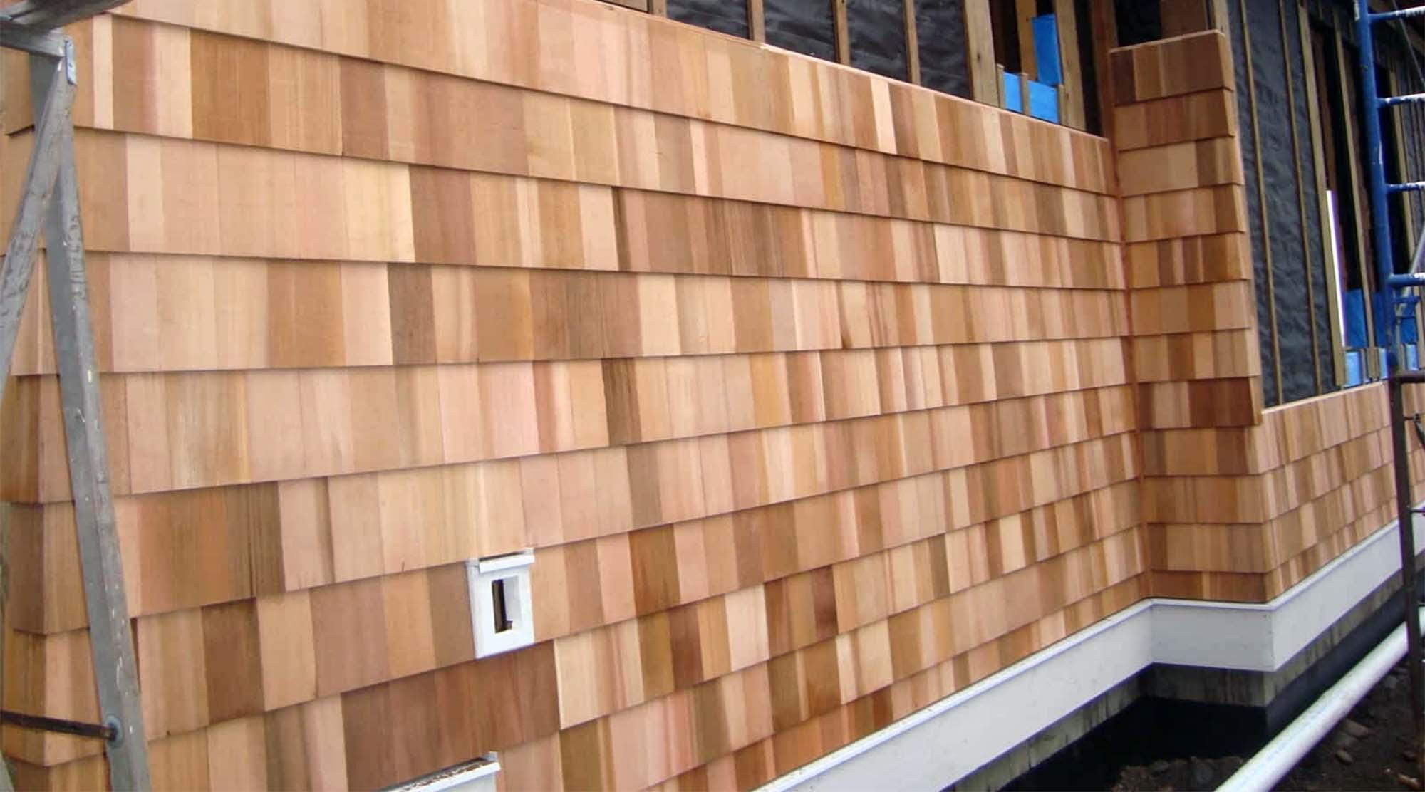 benefits of cedar shake siding rainscreen install method