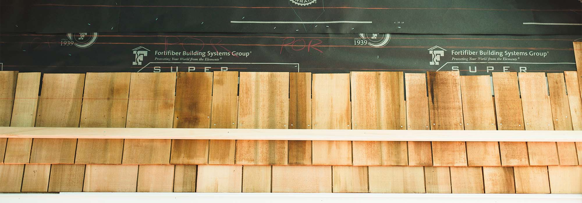 "benefits of cedar shingles 5"" reveal with guides"