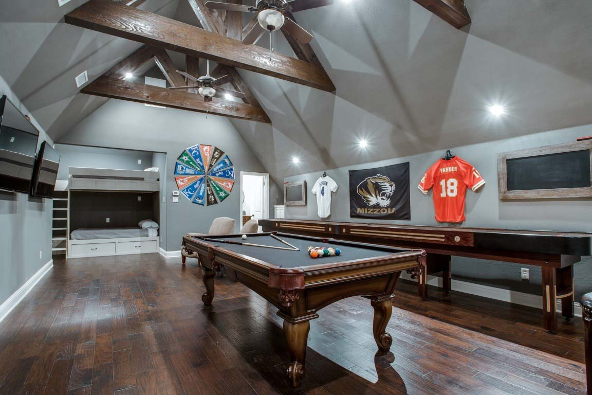 Flex Room Design Ideas Bonus Room Turned Into Game Room