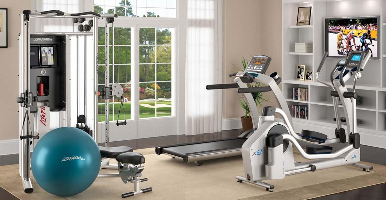 flex room - Home Gym - Top New Home Builder Gambrick