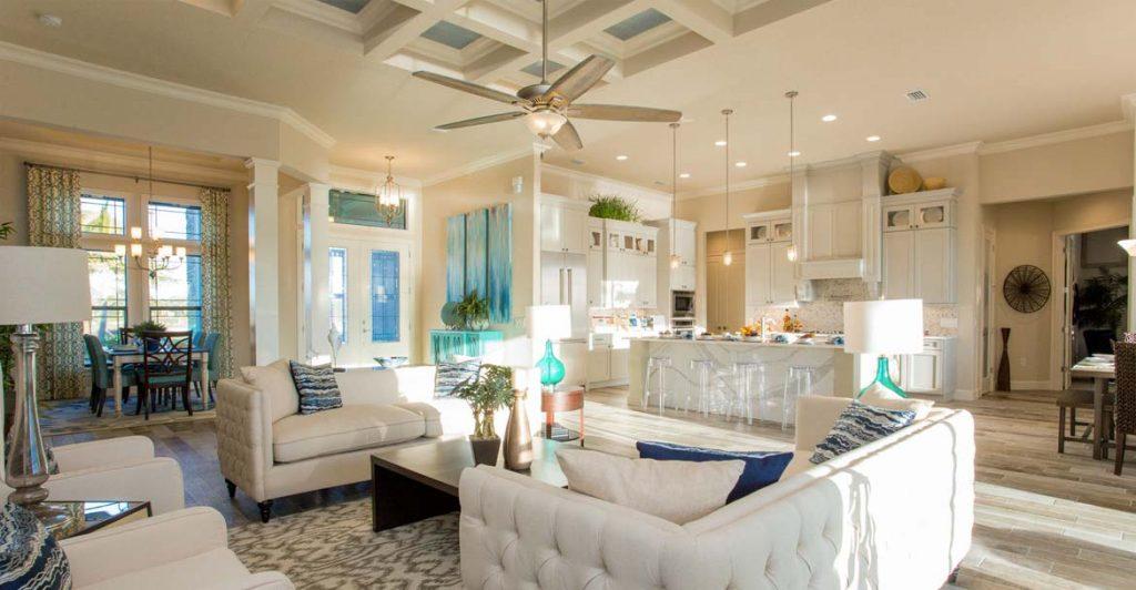 flex room - entertainment room - Top New Home Builder Gambrick