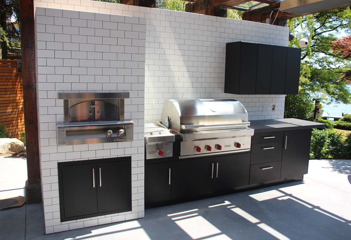 Outdoor Kitchen Ideas Modern Outdoor Kitchen Top Nj