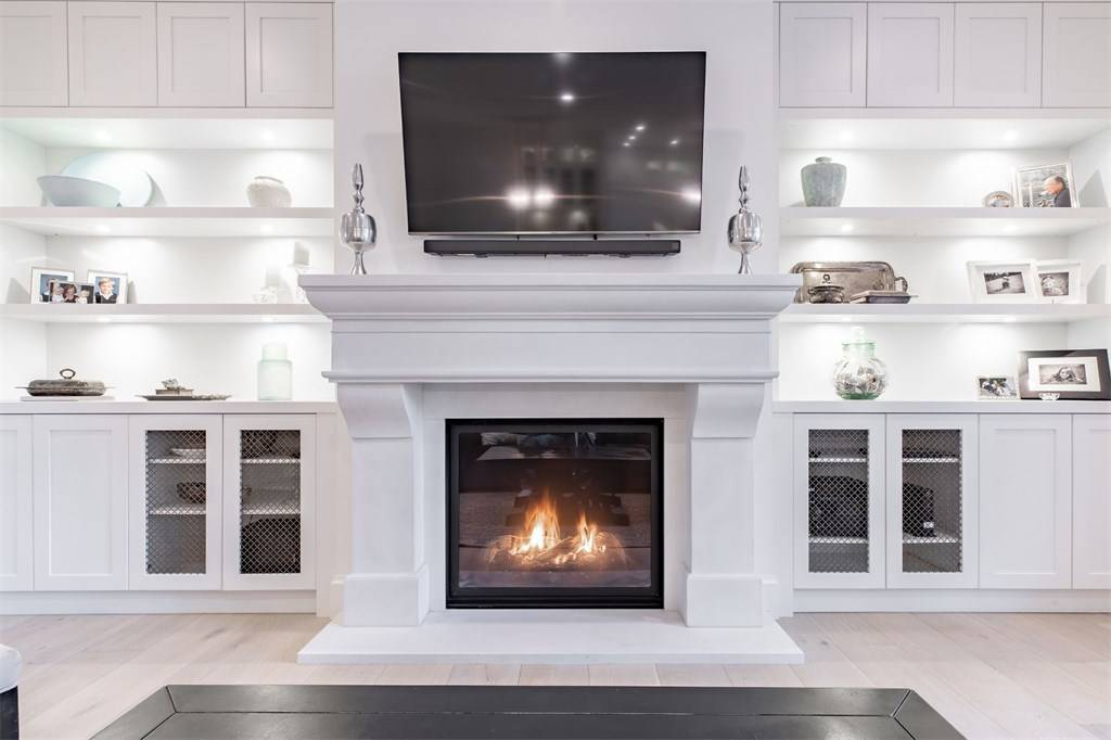 all white room ideas 2019 white fireplace surround with white built ins
