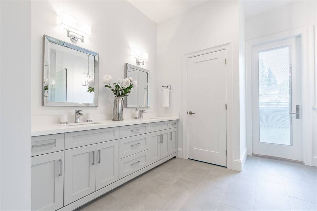 white room ideas 2019 white master bathroom with white double sink vanity