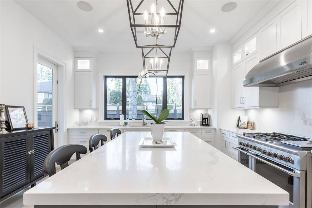 all white kitchen white room ideas 2019 Gambrick custom home builder NJ