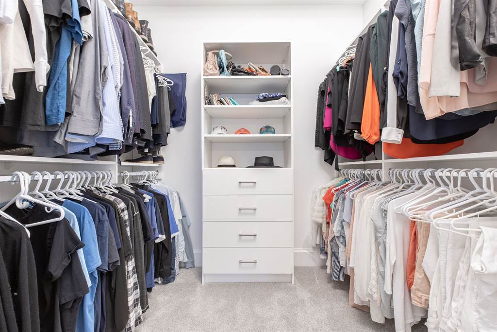 Top white room ideas for 2019 All white walk in closet Gambrick Luxury Home Builder New Jersey