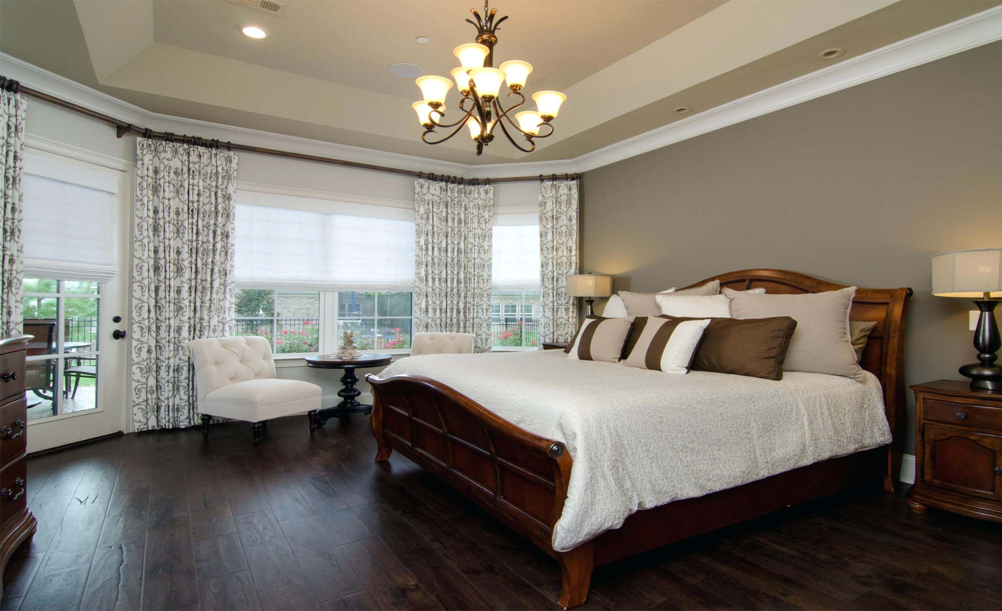 dual master bedroom suite custom home builder Gambrick