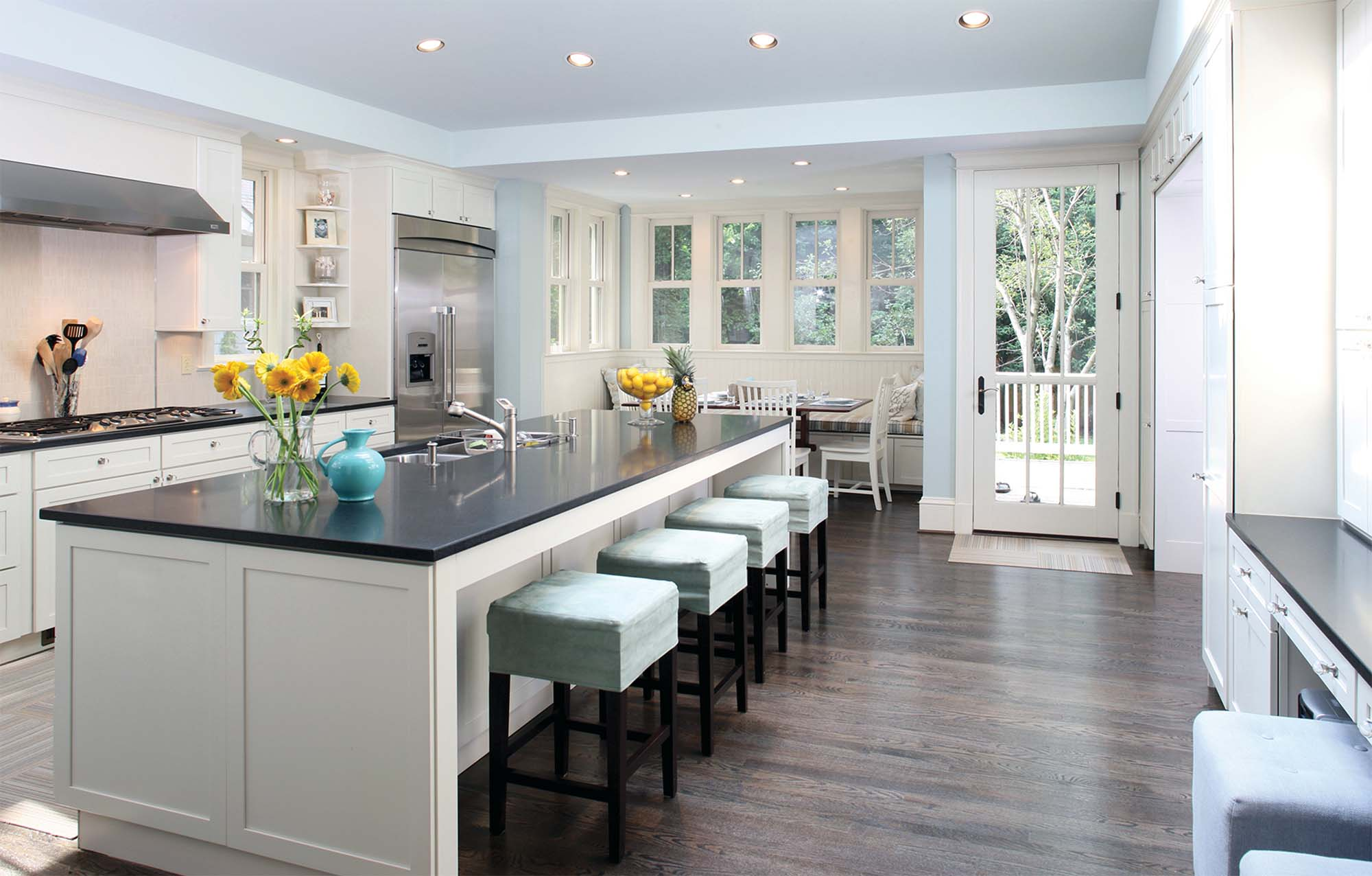 Home Addition Contractors in Ocean County NJ custom kitchen addition - Gambrick