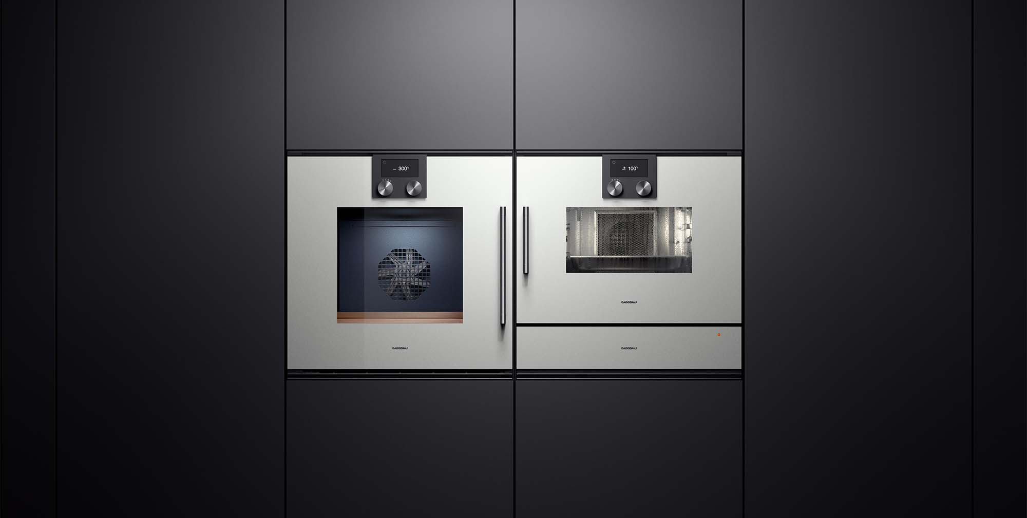 high end gaggenau built in wall luxury appliances