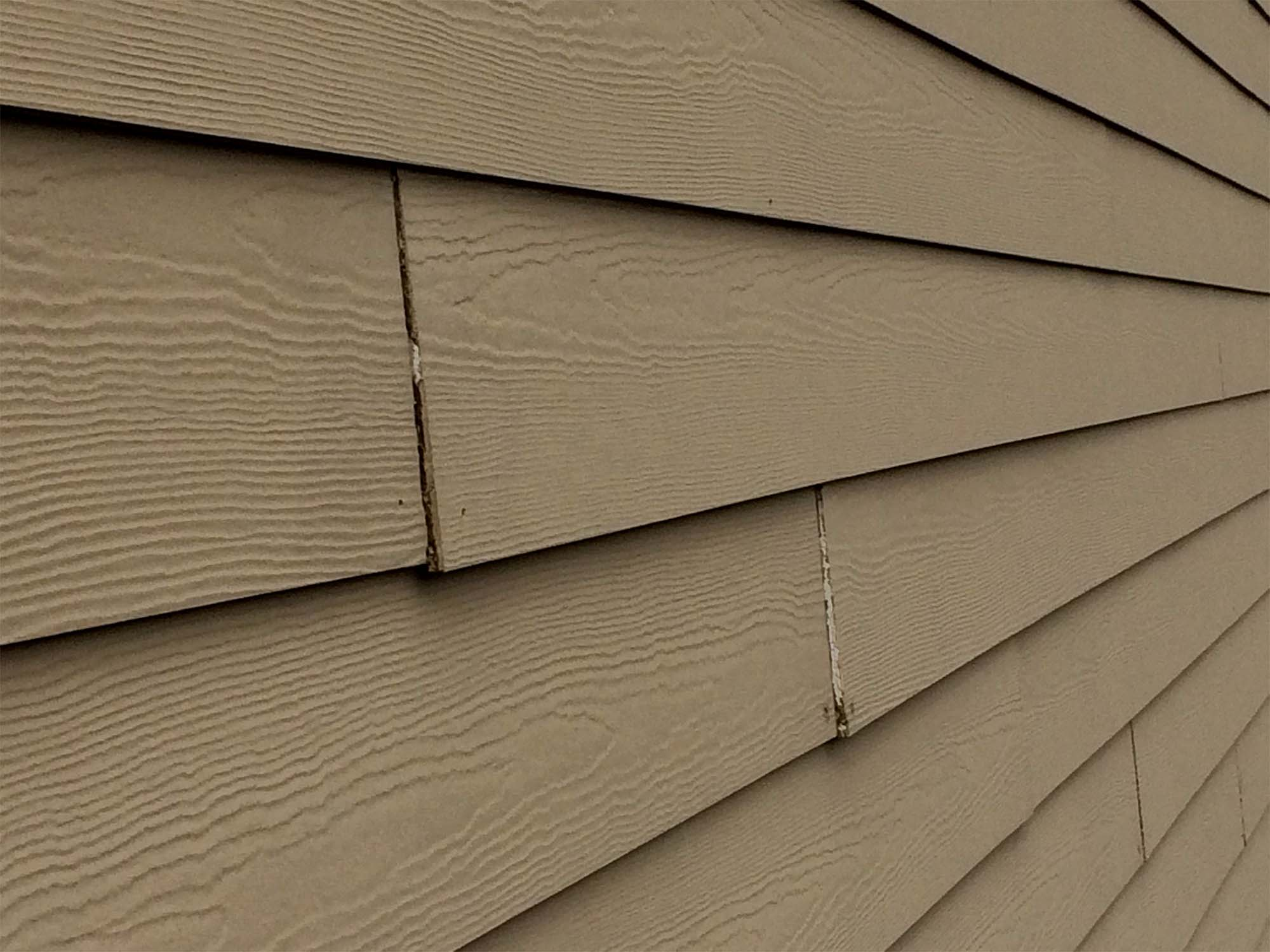 worst problems with hardie siding fiber cement siding with bad unpainted joints