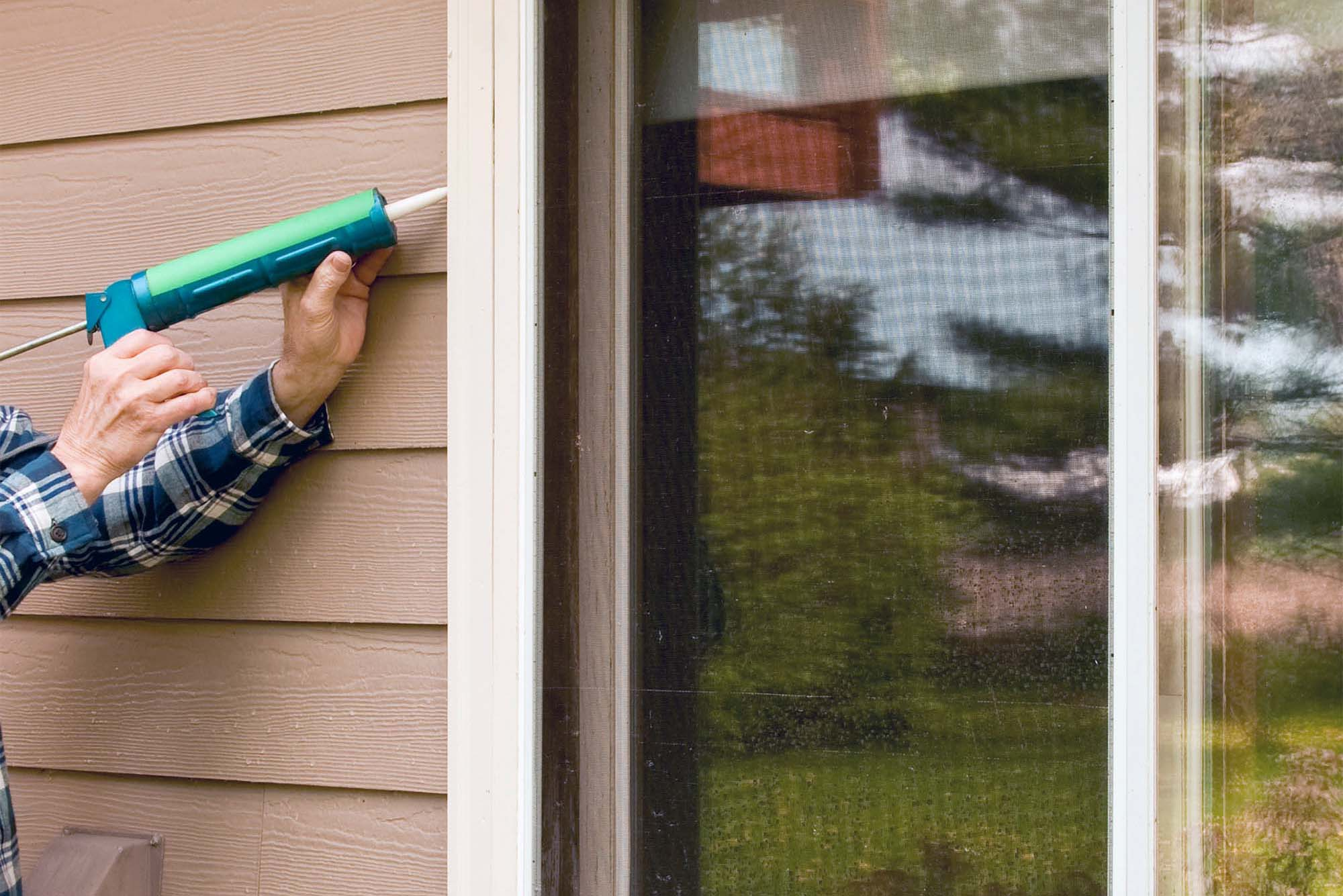 how to maintain fiber cement siding caulking Hardie siding windows