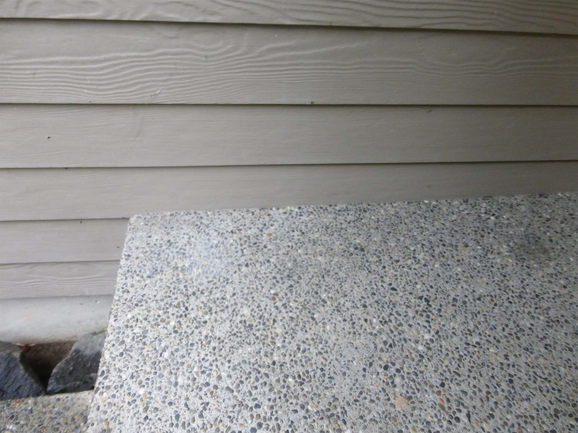 worst problem with hardie siding clearance issues with fiber cement siding