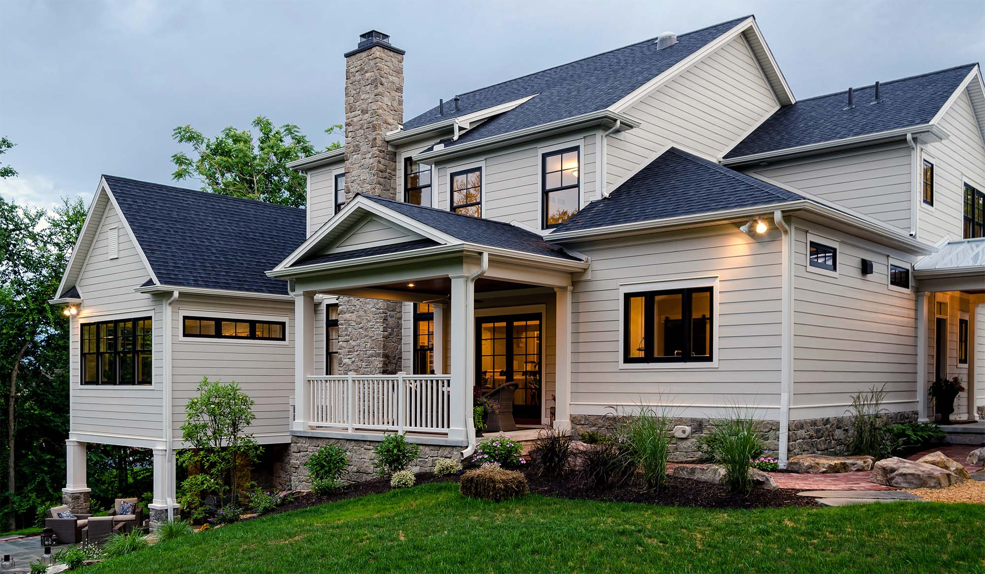 how to maintain fiber cement siding custom home with hardie siding