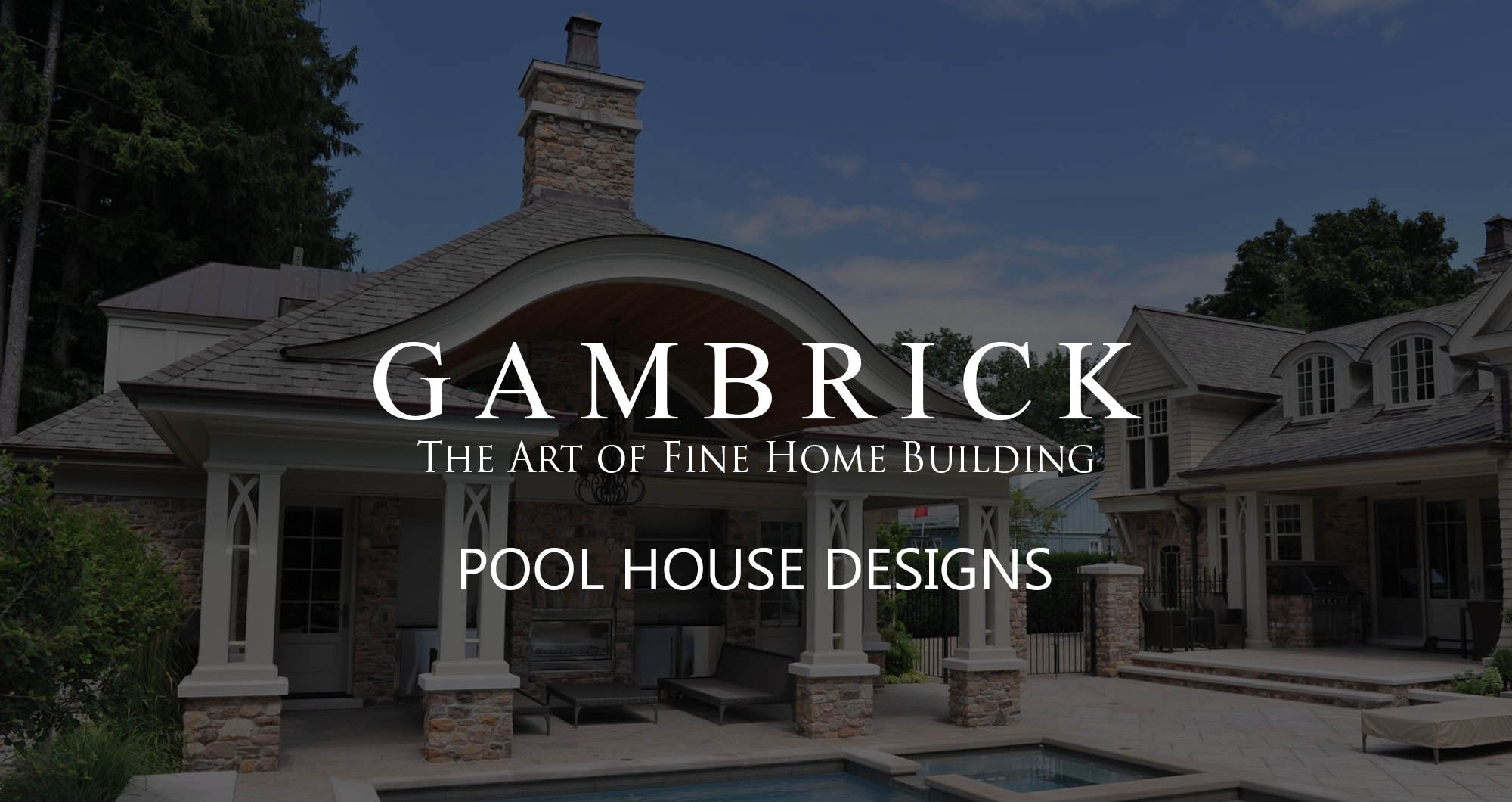 pool house designs to designs banner pic - Gambrick