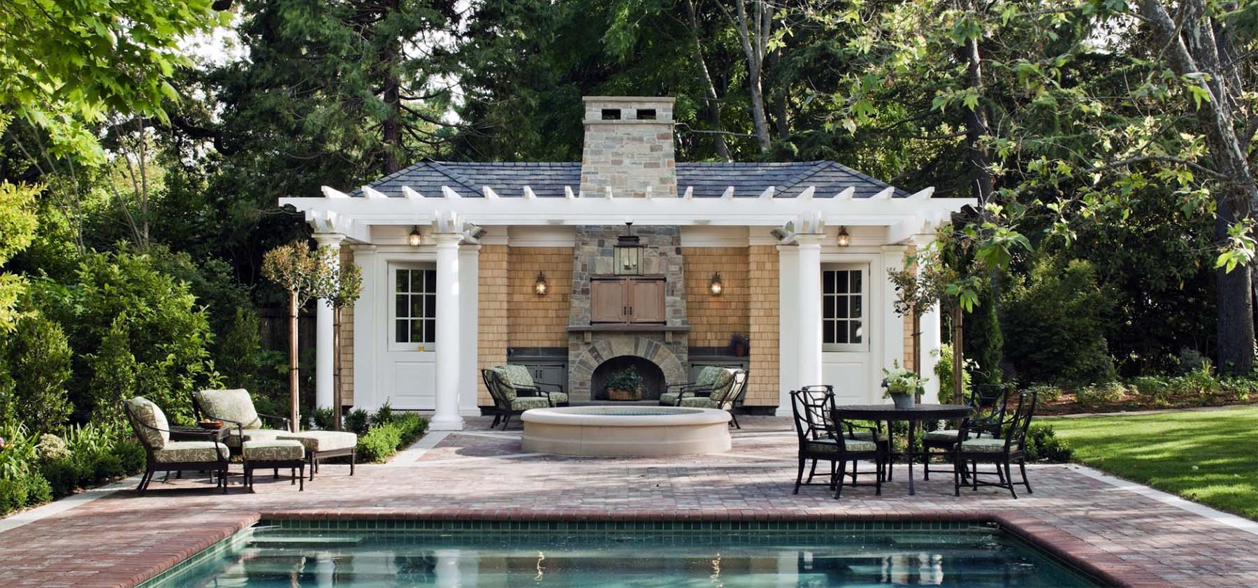 small pool house designs on a budget