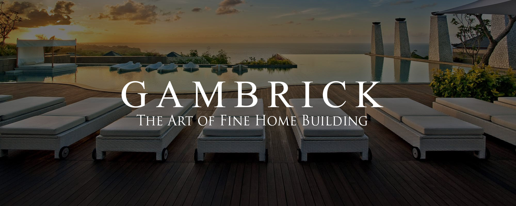 NJ Deck Builder, deck builders in NJ, Ipe waterfront deck with beach chairs - Gambrick