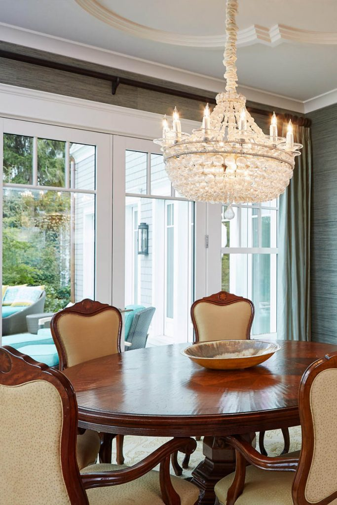 beautiful custom home dining room chandelier - Gambrick