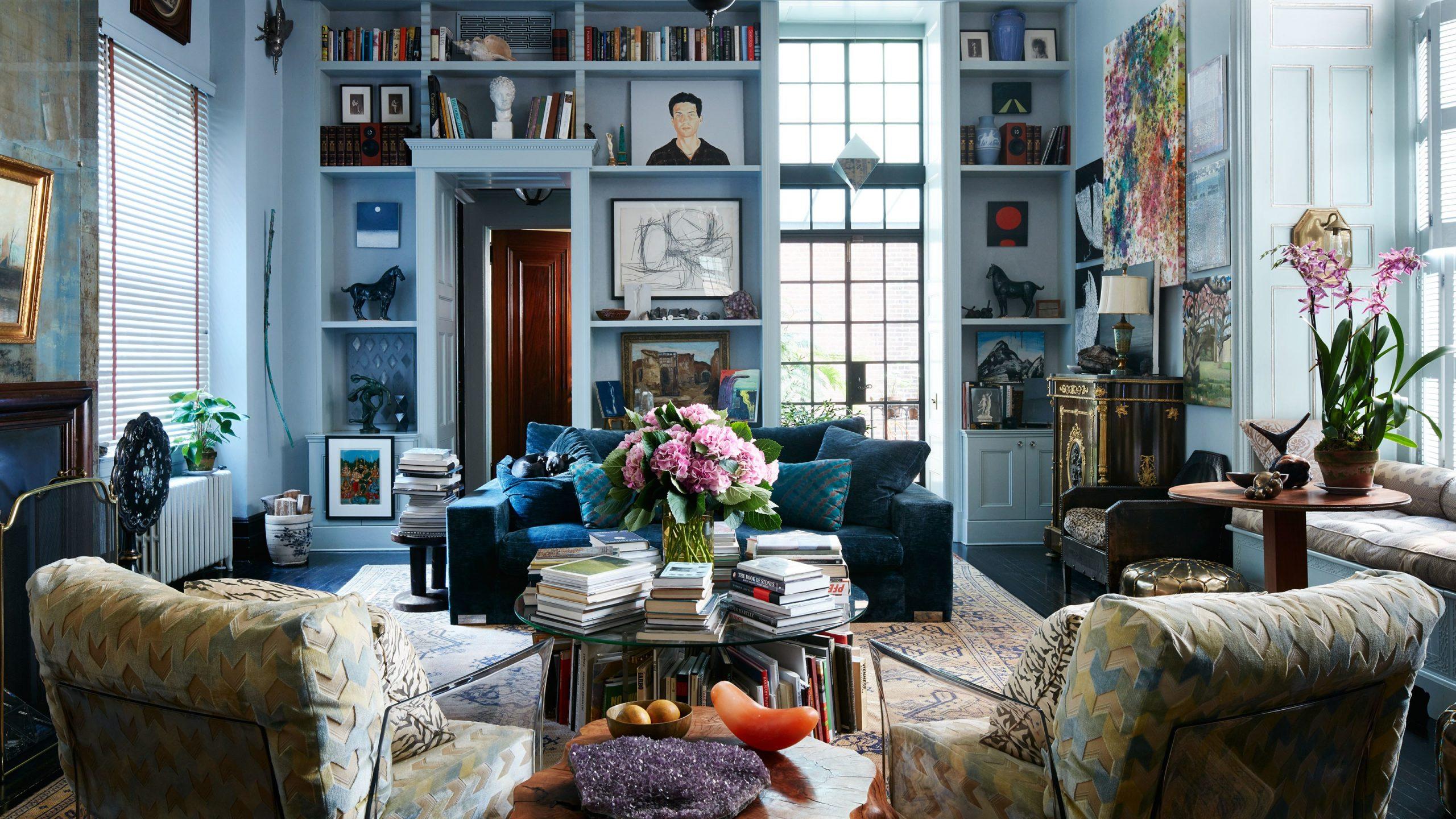 all blue sunroom design nj custom sunroom builder blue walls and built ins colorful sunroom