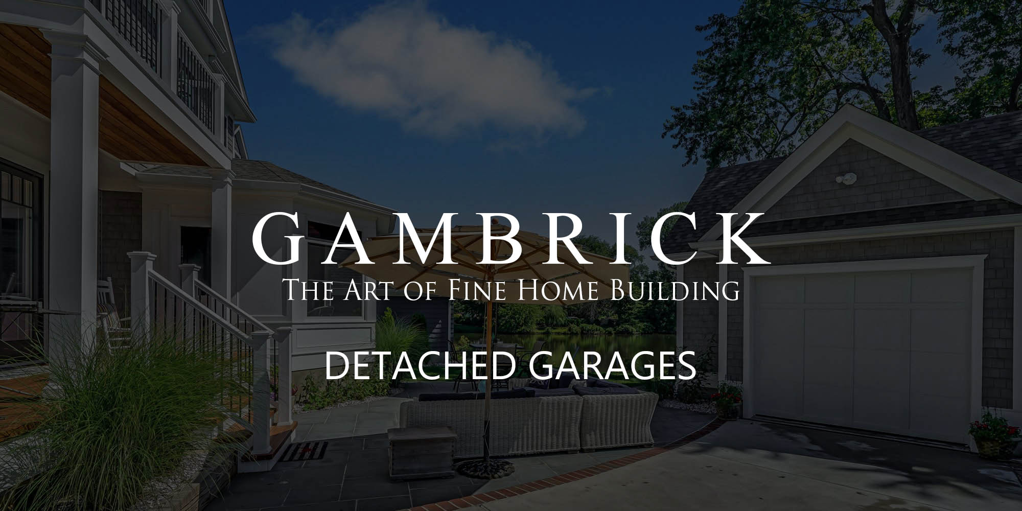 detached garage ideas logo banner for detached garage ideas blog post - Gambrick