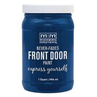 royal blue front door paint