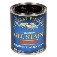 brown mahogany gel stain for front doors