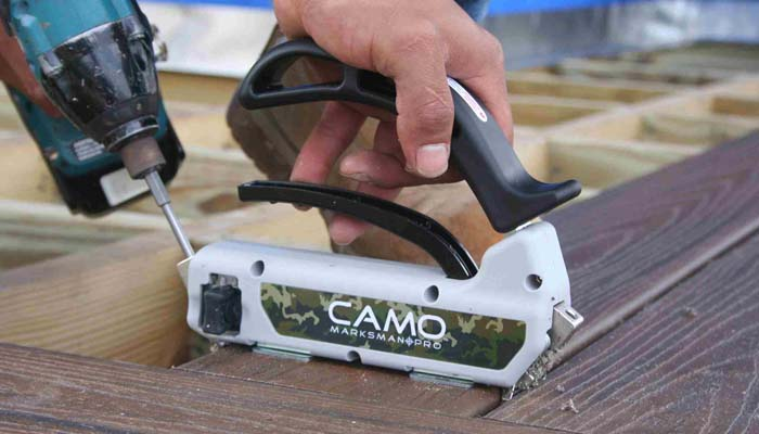 hidden deck fasteners camo marksman pro system