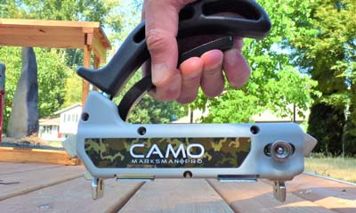 camo hidden deck fasteners marksman pro x1 tool