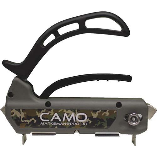 hidden deck fastening system marksman pro x1 by Camo