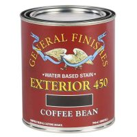 coffee bean front door stain with red brick house