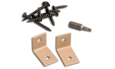 concealoc hidden deck fasteners starter clips for edge boards