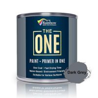 dark grey the one all in one front door paint for red brick house
