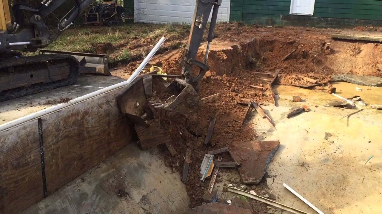 Swimming Pool Removal Nj Pool Demolition Services Nj