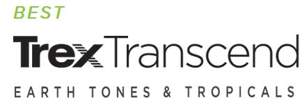 trex transcend earth tones & tropicals logo