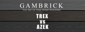 Trex vs Azek decking comparison banner pic