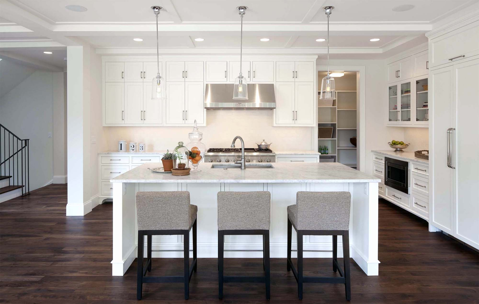 how to clean marble countertops a beautiful kitchen with marble and white cabinets dark wood floors