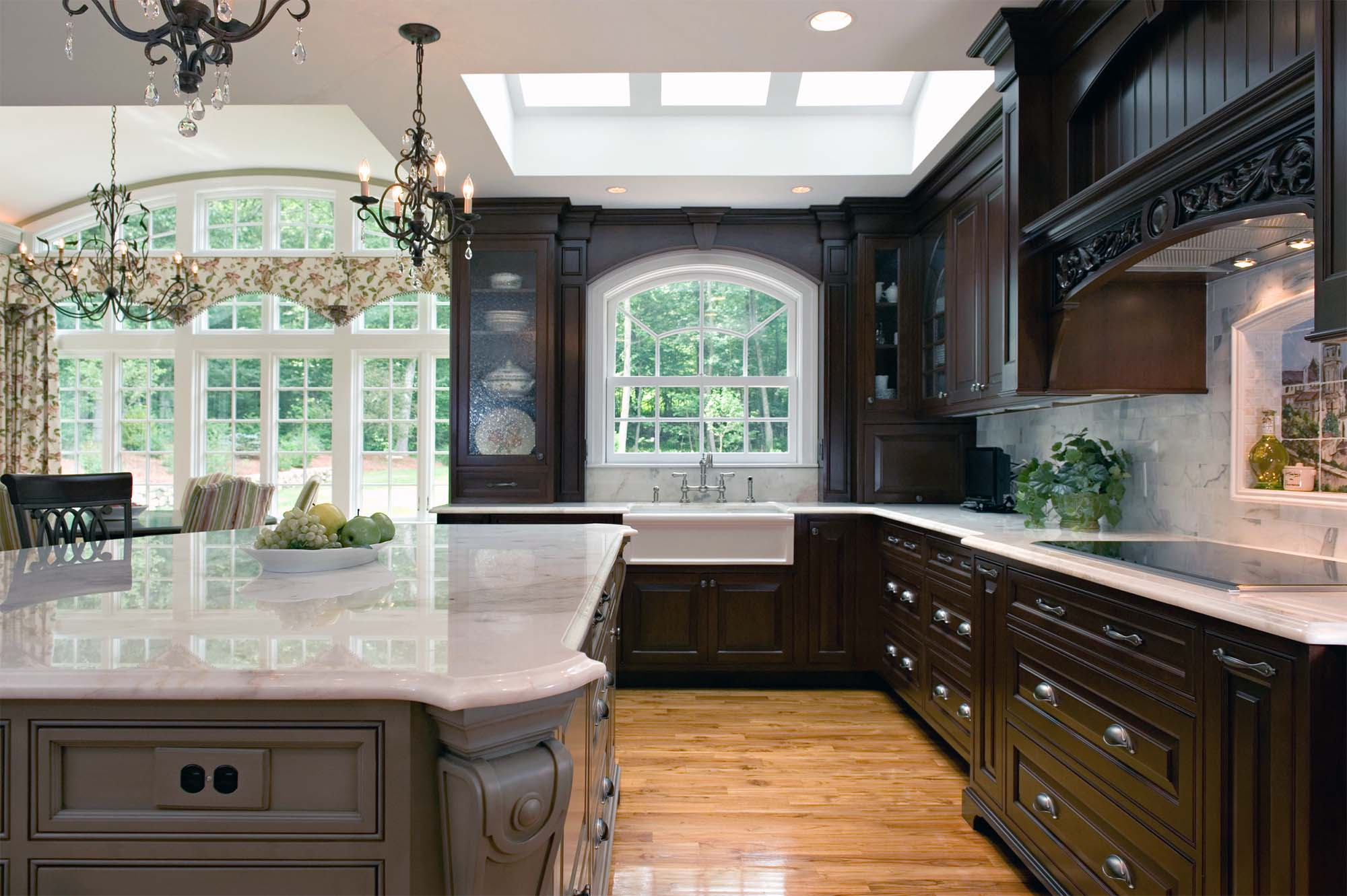 how to clean marble countertops beautiful luxury kitchen gray island with dark brown coffee bean cabinets marble countertops